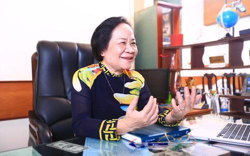 TS. Phạm Thị Việt Nga, Tổng giám đốc của Công ty Cổ phần Dược Hậu Giang.
