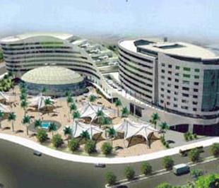 Phối cảnh dự án tổ hợp khách sạn 5 sao và Trung tâm hội nghị - Triển lãm Vũng Tàu của Dic Corp.