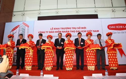 Dai-ichi Life Việt Nam khai trương trụ sở chính.<br>