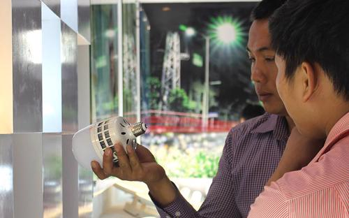 Một trong những sản phẩm của Bóng đèn Điện Quang.<br>