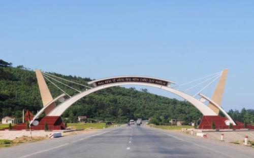 Một góc khu kinh tế Vũng Áng.<br>