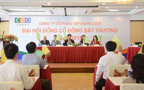 Chủ tịch Hội đồng Quản trị CEO Group Đoàn Văn Bình khẳng định sẽ hoàn  thành kế hoạch lợi nhuận và cổ tức theo Nghị quyết Đại hội đồng cổ đông  năm 2015.