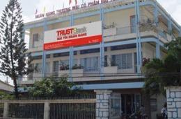 Một chi nhánh của TrustBank.