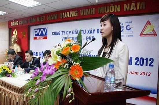 Hồi tháng 4/2012, Đại hội cổ đông PVV đã bầu bà Hương làm thành viên Hội đồng Quản trị và sau đó được bầu làm Chủ tịch PVV.