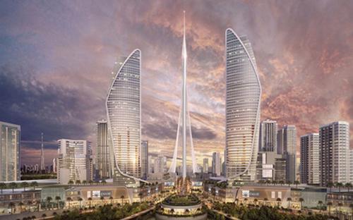 Dubai Creek Tower có vốn đầu tư ước tính 1 tỷ USD - Ảnh: CNN.