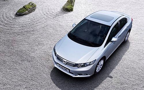 Mẫu xe Civic thế hệ thứ 9 được Honda Việt Nam tung ra thị trường hồi giữa tháng 9 năm ngoái.