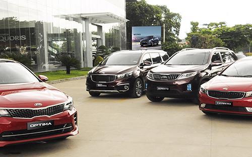 Từ ngày 1/8/2017, giá bán lẻ của mỗi mẫu xe Mazda, Kia và Peugeot sẽ được áp dụng  chung trên toàn quốc và không có sự khác biệt giữa các đại  lý.