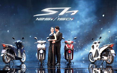 SH mới vẫn có 2 phiên bản 125i và 150i sử dụng động cơ eSP thế hệ mới dung tích 125cc và 150cc.