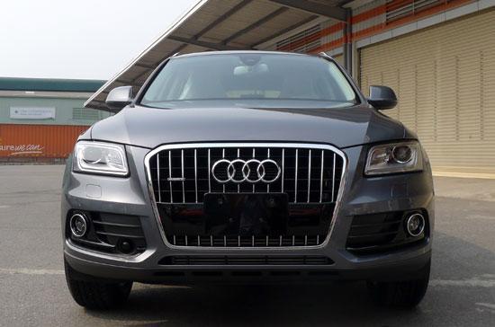 Đây là chiếc xe được Audi Việt Nam đưa về nước theo diện tạm nhập tái xuất nhằm phục vụ cho kỳ triển lãm Vietnam Motor Show 2012 diễn ra tại Hà Nội cuối tháng này - Ảnh: Đức Thọ.