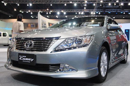 Camry thế hệ mới được giới thiệu tại Bangkok Motor Show 2012 - Ảnh: Đức Thọ.