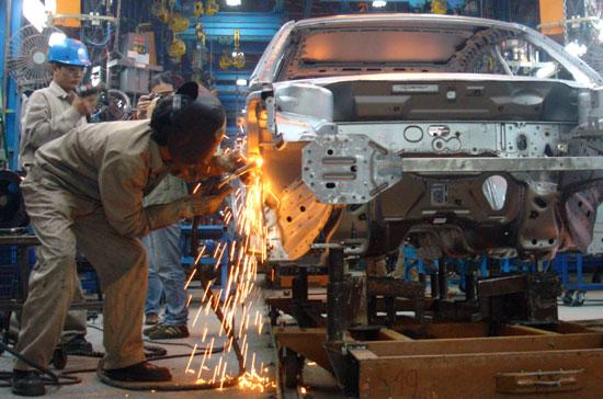 Với tuổi đời gần 20 năm của ngành công nghiệp ôtô Việt Nam thì đây mới chỉ là giai đoạn khởi đầu - Ảnh: Đức Thọ.