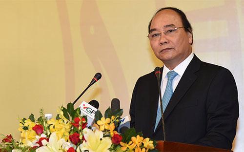 Thủ tướng Nguyễn Xuân Phúc - Ảnh: VGP.<br>