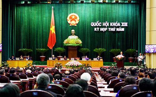 499 vị đại biểu Quốc hội khóa 13, sáng 20/5 cùng bước vào kỳ họp thứ 5, kéo dài một tháng tại Thủ đô Hà Nội.