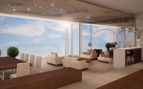 Phối cảnh penthouse tại dự án Fusion Suites Danang Beach.<br>