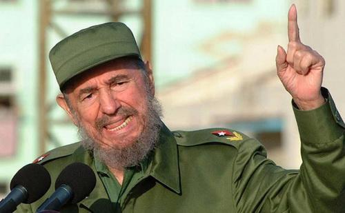 Cựu chủ tịch Fidel Castro được đánh giá là nhà cách mạng vĩ đại của đất nước Cuba.