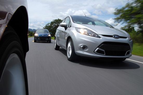 Fiesta đã có những đóng góp đáng kể vào mức tăng trưởng sản lượng bán hàng chung của Ford Việt Nam - Ảnh: Đức Thọ.