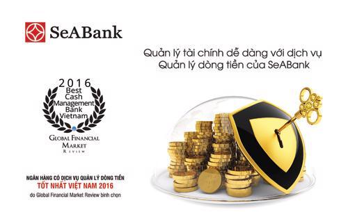 SeABank nhận được giải thưởng quốc tế do GFM trao tặng dựa trên các tiêu chí chất lượng, giá trị nổi bật của sản phẩm dịch vụ mà sự hài lòng và thành công của khách hàng là thước đo chính xác nhất.