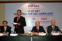 Ông Hồ Nam Thắng, Chủ tịch Hội đồng Quản trị GIC, nói rằng thỏa thuận hợp tác này sẽ giúp nâng cao vị trí của GIC trên thị trường bảo hiểm phi nhân thọ Việt Nam.