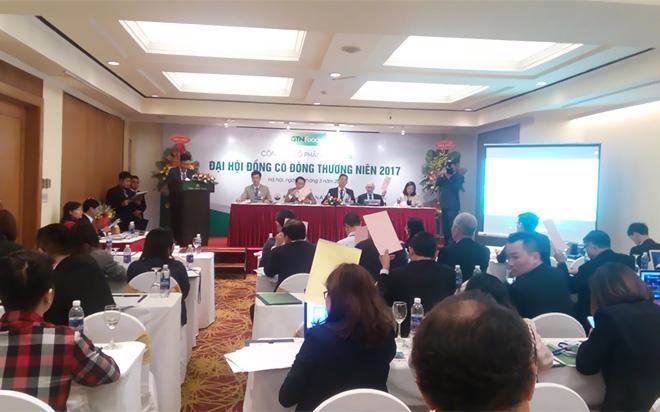 <div>Đại hội cổ đông GTN tổ chức sáng 28/3 tại Hà Nội.</div>