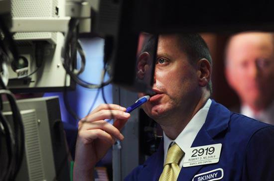Tuy nhiên, khối lượng giao dịch toàn thị trường vẫn ở mức trung bình,  với khoảng 6 tỷ cổ phiếu được chuyển nhượng trên cả ba sàn New York,  American và Nasdaq <i>- Ảnh: Getty.</i><br>