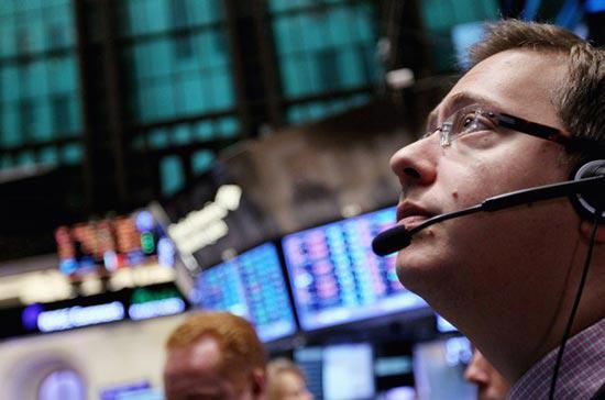Số cổ phiếu tăng điểm vượt trội so với số giảm điểm trên sàn giao dịch  New York với tỷ lệ 2/1, còn ở sàn Nasdaq, tỷ lệ này là 15/7 - Ảnh: Getty.<br>