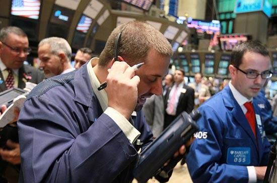 Khối lượng giao dịch ở mức thấp, do thị trường chuẩn bị bước vào kỳ nghỉ dài (tới hết ngày 27/5) - Ảnh: Getty.<br>