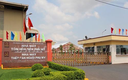 Nhà máy Tôn Hoa Sen.