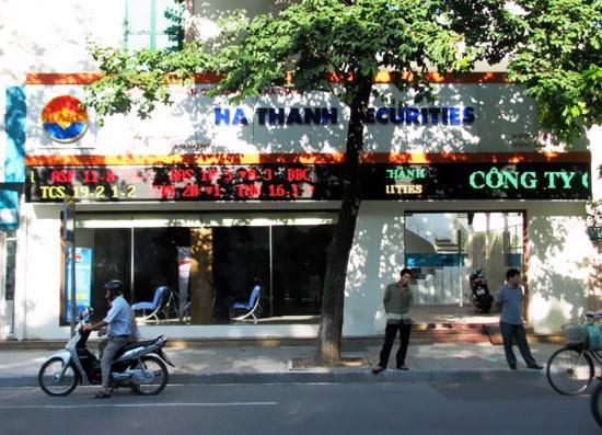 Trụ sở Công ty Cổ phần Chứng khoán Hà Thành.