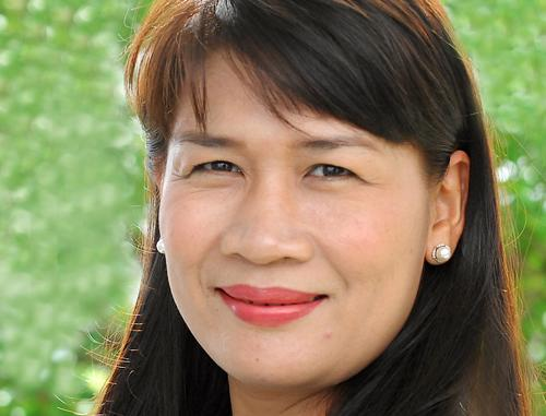 Bà Võ Thị Phương Lan - Chủ tịch kiêm Tổng giám đốc Amerasian Shipping Logistics (ASL).