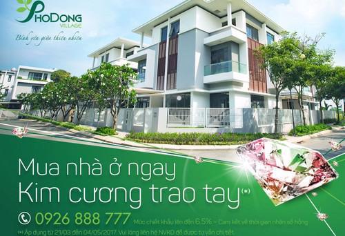 Khu đô thị PhoDong Village sở hữu vị trí đắc địa, tọa lạc gần ngã giao  đường Đồng Văn Cống và đường Vành Đai Đông (quận 2, Tp.HCM).