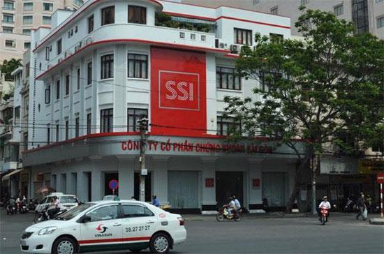 Hội sở của SSI tại đường Nguyễn Huệ, quận 1, Tp.HCM.
