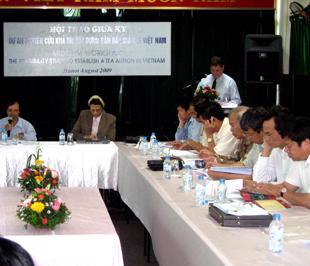 Hội thảo công bố báo cáo giữa kỳ Nghiên cứu khả thi về việc thành lập sàn đấu giá chè ở Việt Nam