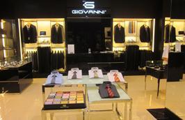 Giovanni là thương hiệu thời trang dành cho doanh nhân và nhân viên công sở của Italia, được phân phối tại Việt Nam từ năm 2007.