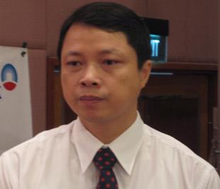 Ông Nguyễn Văn Du, Phó tổng giám đốc Ngân hàng Công thương Việt Nam - Ảnh: Anh Quân.