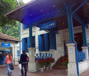 Trụ sở của Công ty cho thuê tài chính ANZ- Vtrac tại Hà Nội.