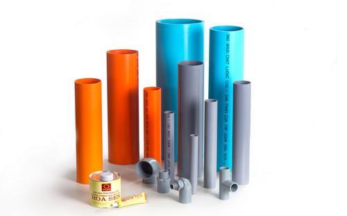 Sản phẩm ống nhựa uPVC và phụ kiện ống nhựa cao cấp của Tập đoàn Hoa Sen.