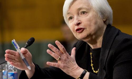 Người đứng đầu FED nhấn mạnh, tính đến thời điểm hiện tại, FED gần như đã thực hiện được mục tiêu ổn định tối đa thị trường việc làm cũng như mặt bằng giá cả - Ảnh: Huffington Post.<br>