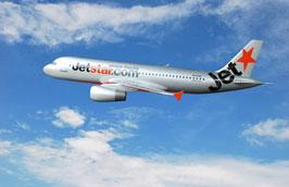 Jetstar Pacific đang khai thác đội máy bay 7 chiếc gồm Airbus A320 và Boeing 737-400.