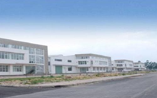 Một góc khu công nghiệp Tràng Duệ.