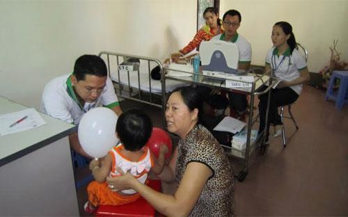Đây là lần thứ sáu, Lavico và MVK tài trợ cho chương trình khám sàng lọc  bệnh tim mạch cho trẻ em do Bệnh viện Nhi đồng 2 phối hợp với Hội bảo  trợ bệnh nhân nghèo, sở lao động – thương binh và xã hội các tỉnh tổ  chức.