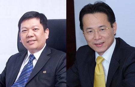 Ông Đỗ Minh Toàn và ông Lý Xuân Hải.