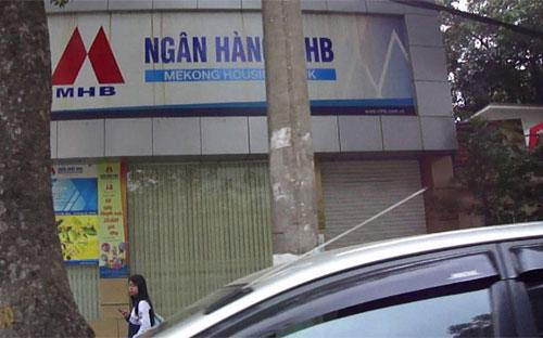 Một phòng giao dịch tại MHB.<br>