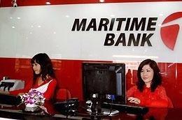 Maritime Bank có vốn điều lệ 3.000 tỷ đồng, trụ sở chính đặt tại số 519 Kim Mã, quận Ba Đình, Tp.Hà Nội.