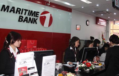 Với chỉ tiêu được giao, Maritime Bank xây dựng kế hoạch và kiểm soát tăng trưởng tín dụng không vượt quá 17% trong suốt cả năm 2012.