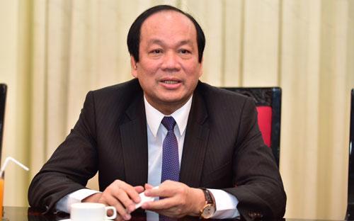 Tân Bộ trưởng - Chủ nhiệm Văn phòng Chính phủ Mai Tiến Dũng.<br>