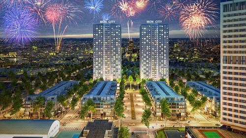 Dự án Mon City có tổng diện tích 6,7ha, với tổng đầu tư dự kiến lên đến 6.000 tỷ đồng.