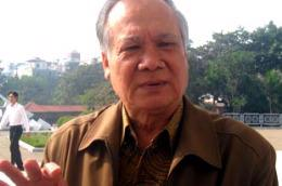 Chủ tịch Tổng hội Xây dựng Việt Nam, ông Trần Ngọc Hùng - Ảnh: Từ Nguyên.