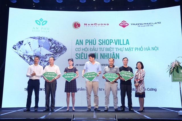 """Sự kiện """"An Phú Shop - villa, cơ hội đầu tư biệt thự mặt phố Hà Nội siêu lợi nhuận"""" hôm 6/8.<b><br></b>"""