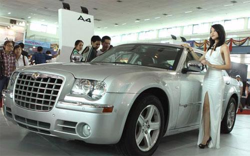 Đến hết tháng 12, tổng lượng ôtô nhập khẩu về nước trong năm đạt 27.000 chiếc với giá trị 605 triệu USD, giảm 49,8% về lượng và 41,2% về giá trị so với năm 2011.