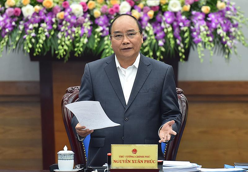 Thủ tướng Nguyễn Xuân Phúc: Chính phủ nói phải đi đôi với làm, giữa lời nói và hành động cần phải đặt vấn đề rõ hơn.
